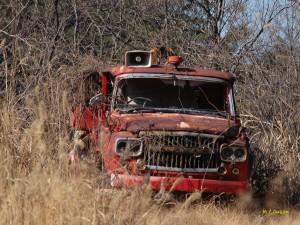 廃消防車1