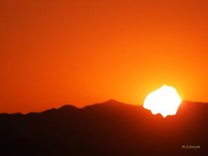 異形の夕日1
